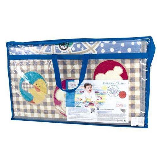 Speelkleed XL Foam - Imaginarium Babykleed - Opvouwbaar met Tas - 200 x 140 cm - Blauw
