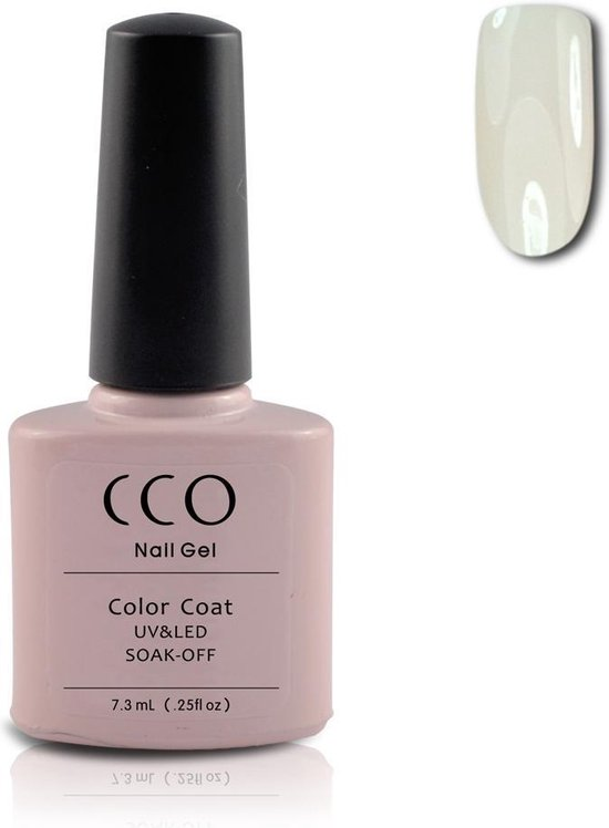 CCO Shellac-Clearly Pink 40523-Transparante Roze-Gel Nagellak