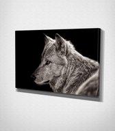 White Wolf Canvas | 80x120 cm