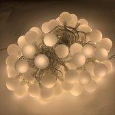 LED verlichting feestverlichting - 80 LED's - Warm wit - 12 meter - voor binnen & buiten