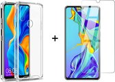 Huawei P30 Lite Hoesje Transparant - Huawei P30 Lite New Edition Hoesje Transparant - Huawei P30 Lite 2020 Hoesje Transparant - Shock Proof Case - 1x Huawei P30 Lite/P30 Lite New Edition/P30 Lite 2020 Screenprotector