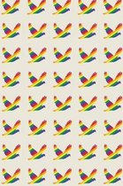 LGBTQ+ Rights Field Journal Notebook, 100 pages/50 sheets, 4x6