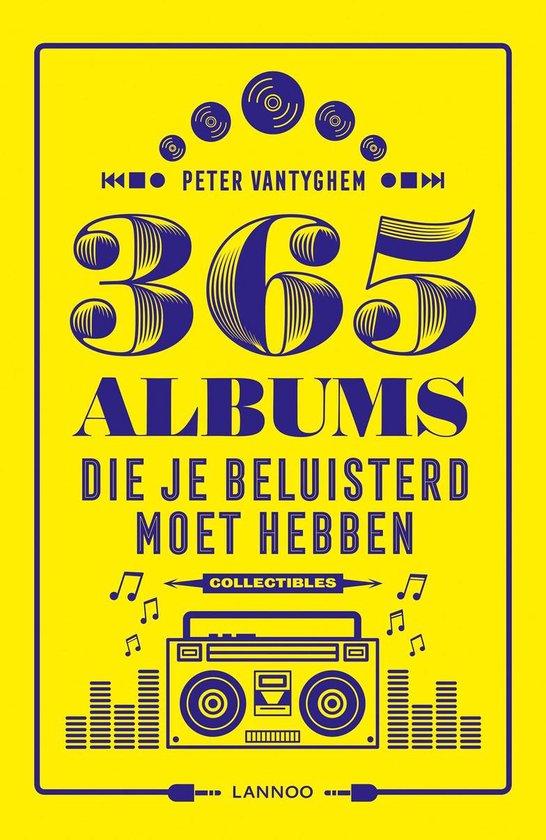 Afbeelding van 365 albums die je beluisterd moet hebben
