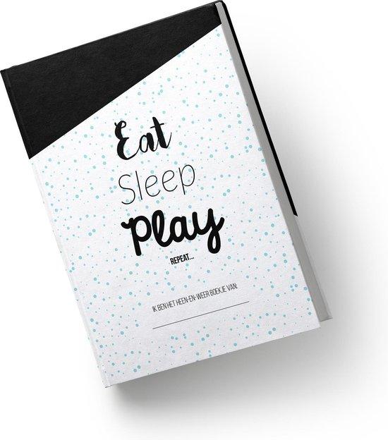 Heen en weer boek voor kinderopvang - gastouder - Creche -en oppasboek hardcover Wit