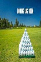 Golfing Log Book