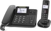 Doro Comfort 4005 - Duo DECT telefoon - Zwart