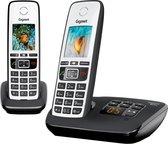 Gigaset A670A - Duo DECT telefoon - met antwoordapparaat - Zilver/Zwart