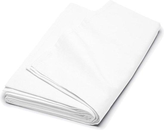 Cinderella - Laken - Katoen-satijn - Eenpersoons - 160x270 cm - White