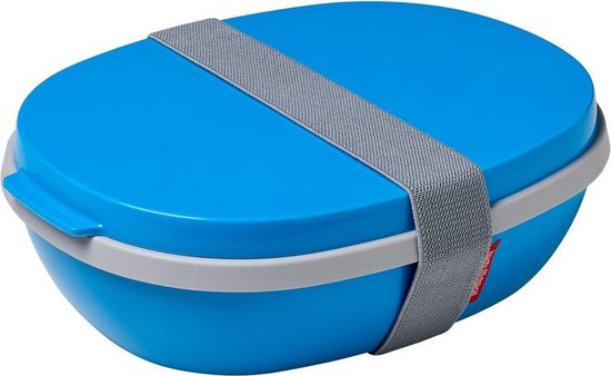 Mepal Ellipse Duo Lunchbox - 1.4L - Aqua