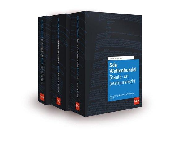 Educatieve wettenverzameling - Sdu Wettenbundel 2019-2020 (set 3 ex) - none |