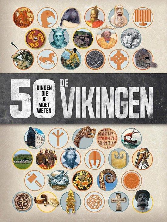 50 dingen die je moet weten - De Vikingen - Philip Parker  