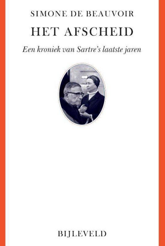 Boek cover Collectie Labyrint  -   Het afscheid van Simone de Beauvoir (Paperback)