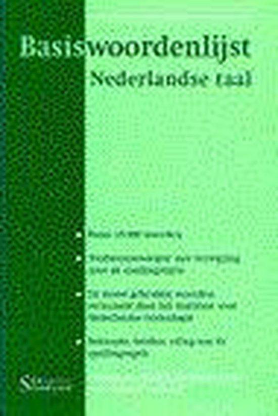 BASISWOORDENLIJST NEDERLANDSE TAAL - Van de Pol |