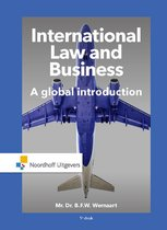 Boek cover International Law and Business van Bart Wernaart (Paperback)