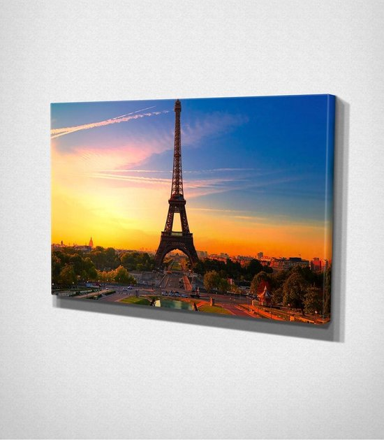 Paris – Eiffel Tower Canvas | 80x120 cm