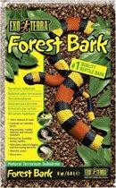 Exo terra substraat forest bark - 8,8l - Bodembedekking - naturel