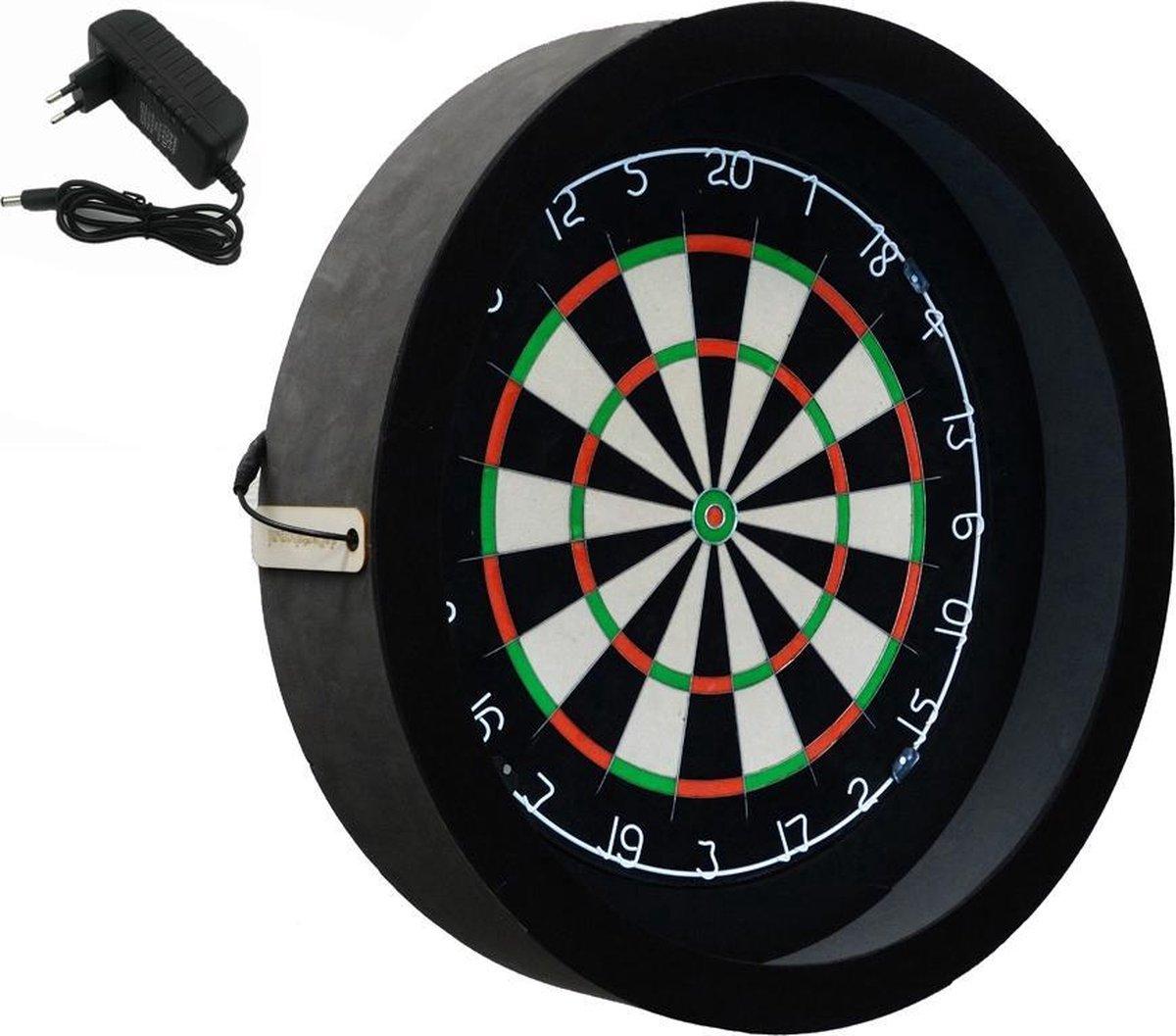 Dragon - Sorpresa PRO - zwart - dartbord verlichting - dartbord berscherming ring