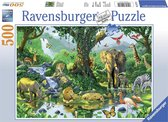 Ravensburger puzzel Jungle Harmony - Legpuzzel - 500 stukjes