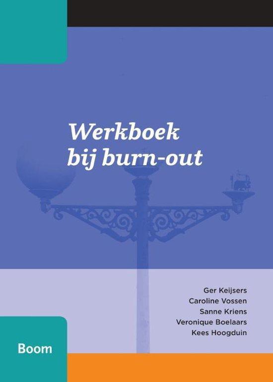 Werkboek bij burn-out - Ger Keijsers | Fthsonline.com