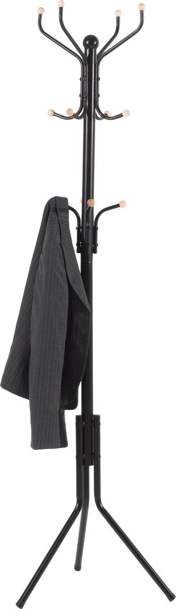 Design Kapstok met Twaalf Haken - Vintage Staande kapstok in 3 Lagen Haken voor Inkomhal Bistro of G