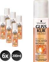 Gliss Kur Anti-Klit Spray Total Repair 19 6x