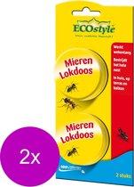 ECOstyle Loxiran Mierenlokdoos - Ongediertebestrijding - 2 stuks