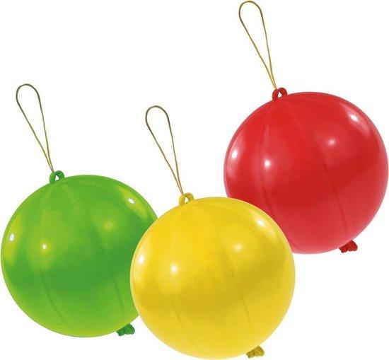 Amscan Boksballonnen 45 Cm Rood/geel/blauw 3 Stuks