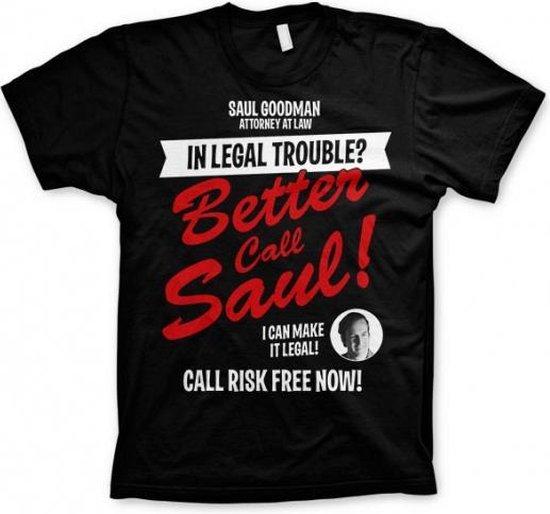 T-shirt Breaking Bad Better call Saul Xl