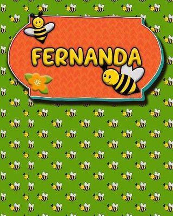 Handwriting Practice 120 Page Honey Bee Book Fernanda