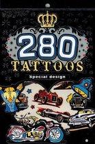 Boek cover 280 Tattoos Boek - Special Design - Nr 6 van non merk
