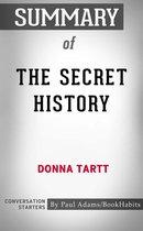 Boek cover Summary of The Secret History van Paul Adams
