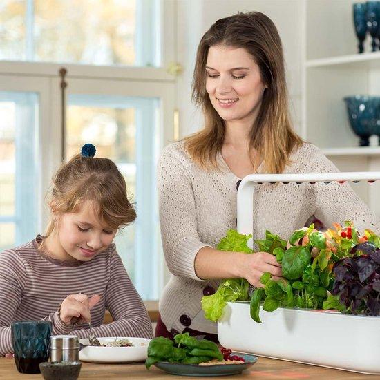 Binnentuin met LED-verlichting Click & Grow Smart Garden 9 - Wit