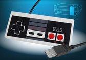 Retro USB-controller met NES Classic Mini-ontwerp voor computers, bekabelde Eaxus