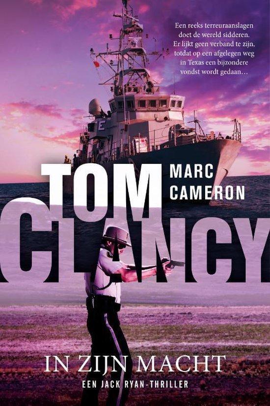 Boek cover Jack Ryan  -   Tom Clancy In zijn macht van Marc Cameron (Paperback)