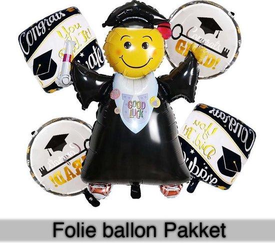 Geslaagd foliepop-ballon