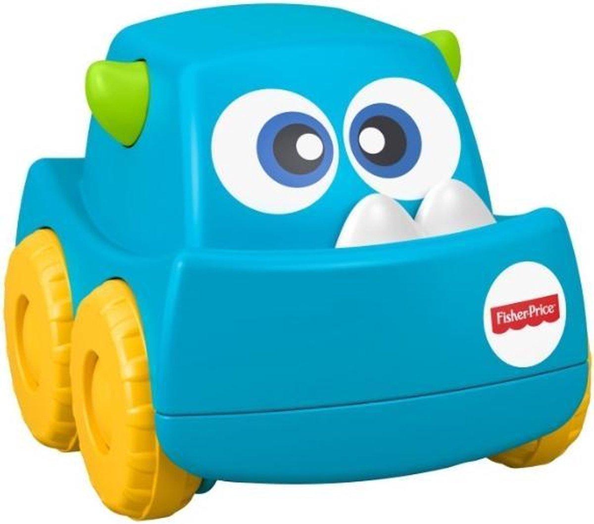 Fisher-price Mini Monster Trucks Blauw