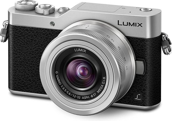 Panasonic Lumix DC-GX800 + 12-32mm f/3.5-5.6 Zilver