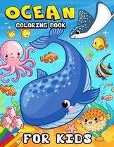 Ocean Coloring book for kids