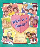 Boek cover Whos In A Family van Robert Skutch