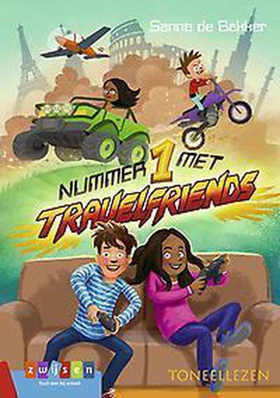 Boek cover Toneellezen  -   Nummer 1 met Travelfriends van Sanne de Bakker (Hardcover)
