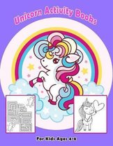 Unicorn Activity Books for Kids Ages 4-8