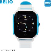 BELIO©TOUCH – GPS horloge kind – Wit/Blauw