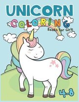 Unicorn Coloring Books for Girls 4-8