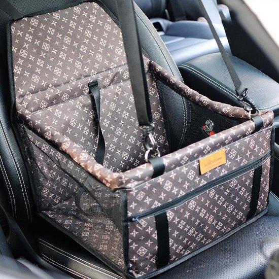 Autozitje huisdier - Louis Vuitton look design