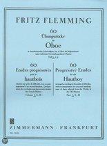 60Übungsstücke Für Oboe In Fortschreitender Schwierigkeit 1