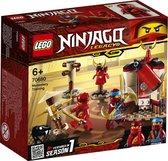 LEGO NINJAGO Legacy Kloostertraining - 70680