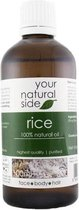 Your Natural Side Rice Oil, Refined 100ml. Cap