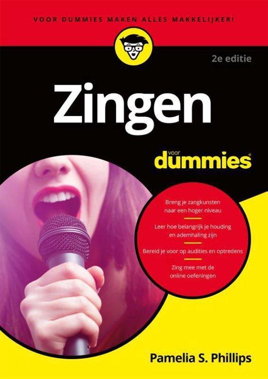 Boek cover Voor Dummies - Zingen voor dummies van Pamelia S. Phillips (Paperback)