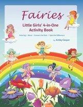 Fairies Little Girls' 4-in-One Activity Book