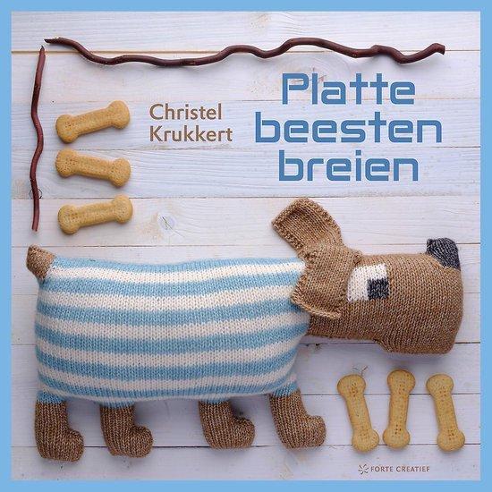 Platte beesten breien - Christel Krukkert  
